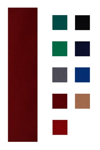 Accuplay 20 oz Pre Cut For 8' Table  Pool Felt - Billiard Cloth Burgundy